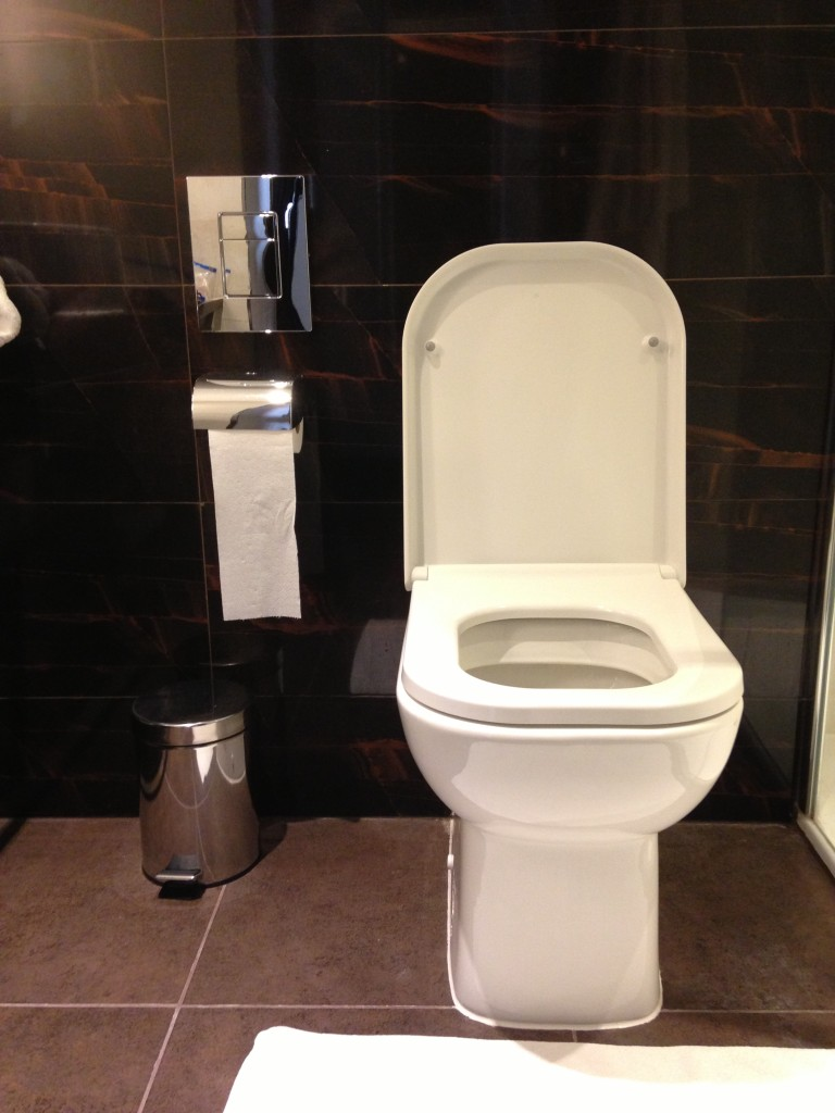 doubletree by hilton victoria hotel toilet