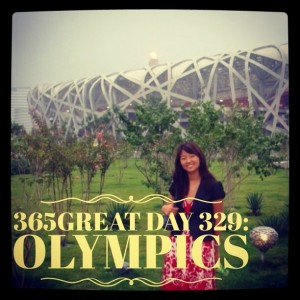 365great day 329: olympics
