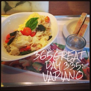 365great day 335: vapiano
