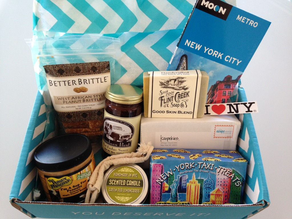 escape monthly february new york box products showing