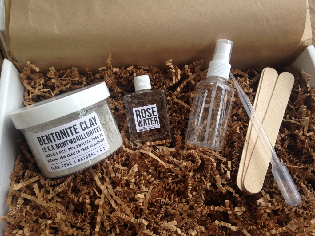 the homegrown collective january 2014 products for bentonite clay and rosewater mask