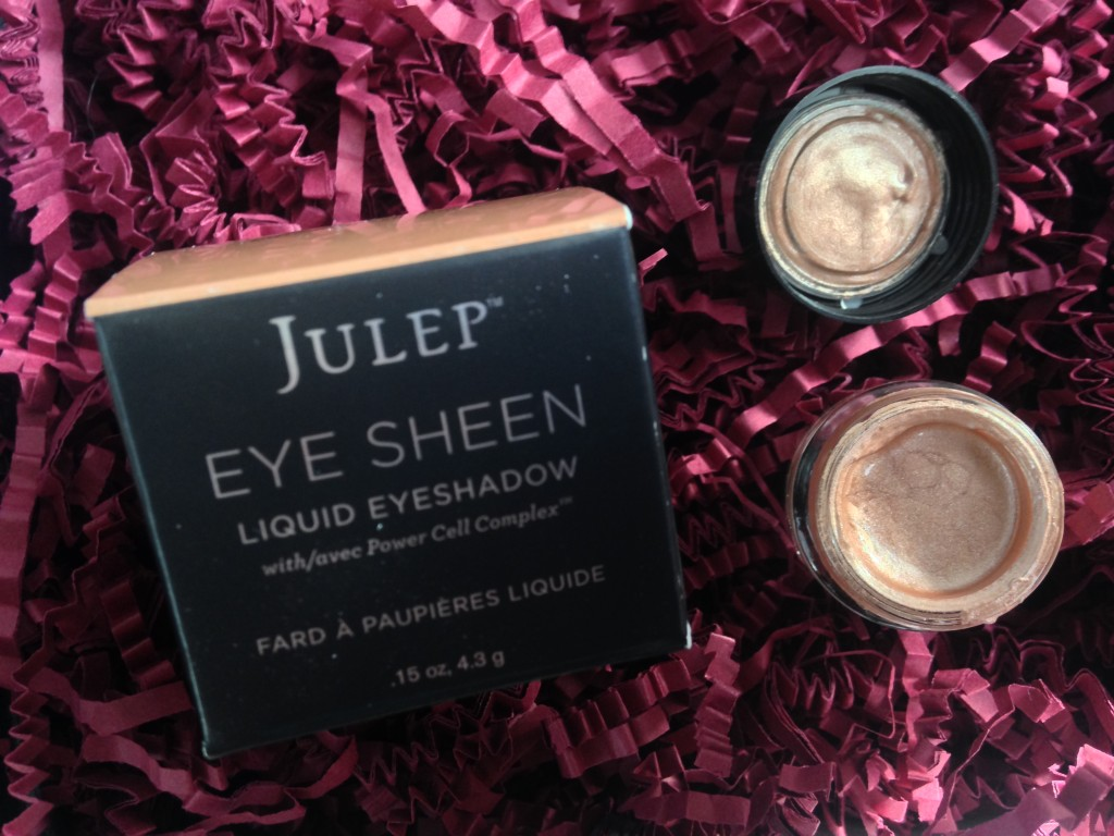 julep eye sheen liquid eyeshadow in pale nude shimmer