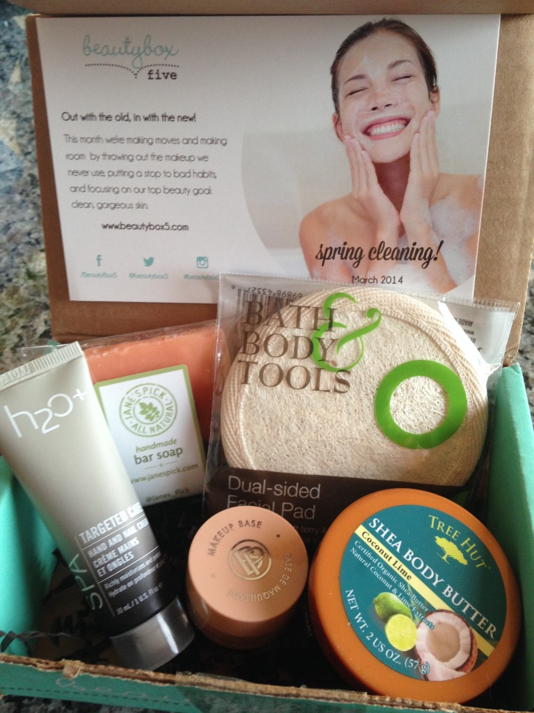march 2014 beauty box 5 contents