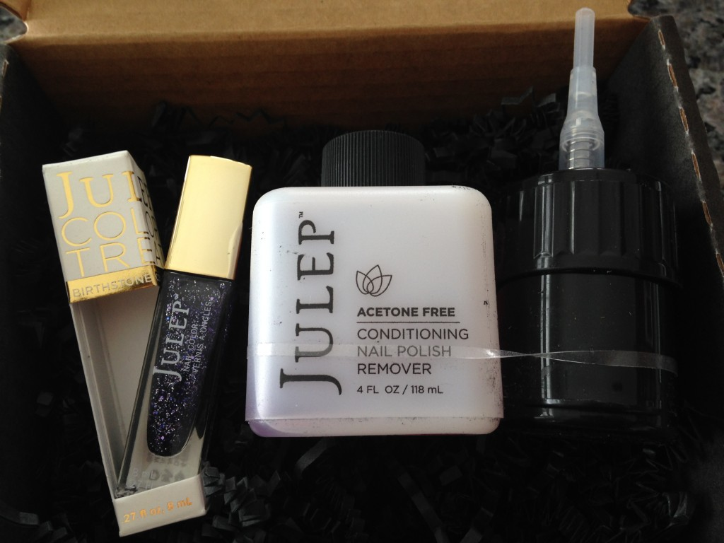 julep maven secret store february 2014 selected products including rosa amethyst polish and clean slate nail polish remover with pump