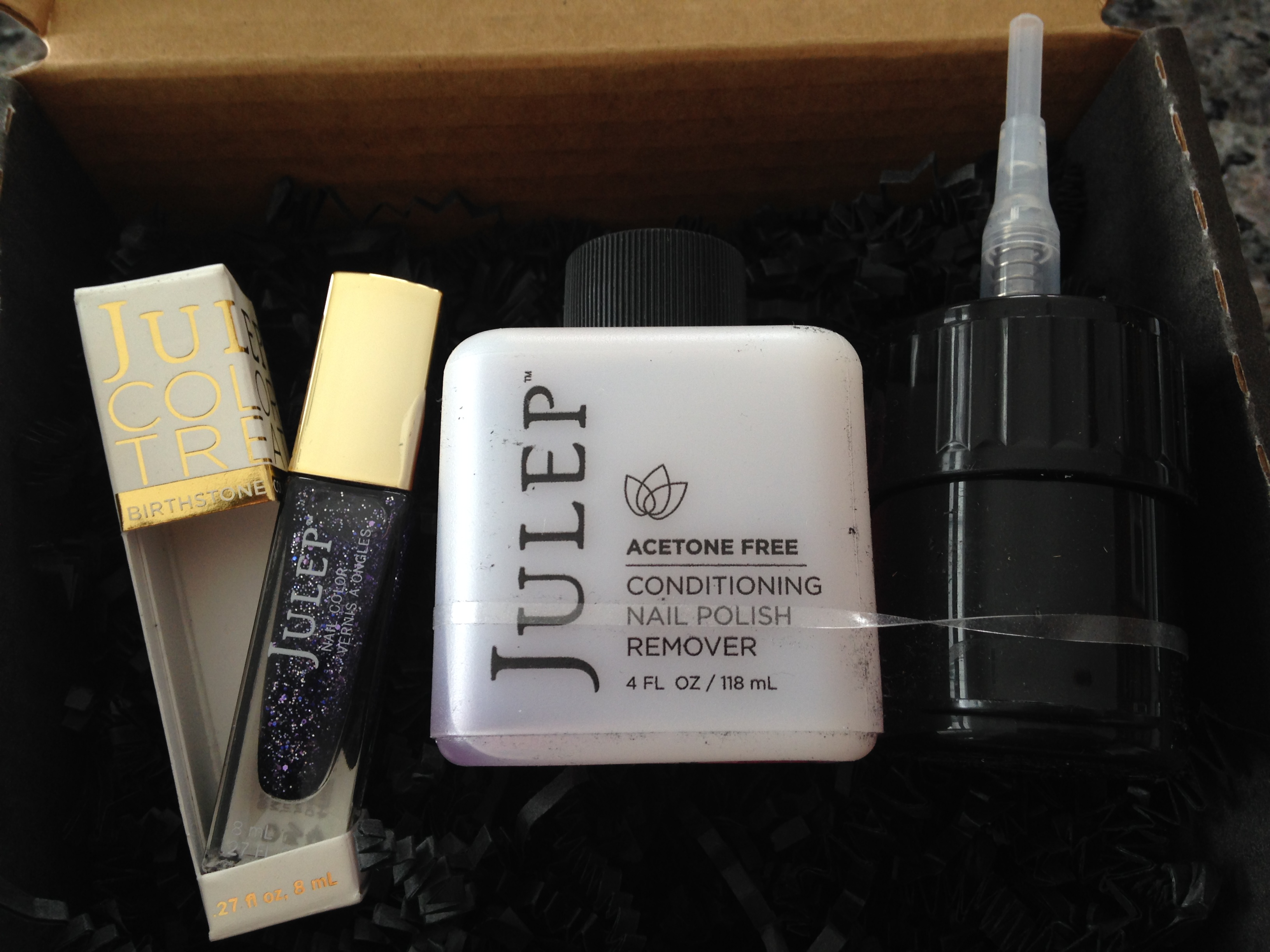 Julep February Secret Store: Rosa & Clean Slate review « ((little ...