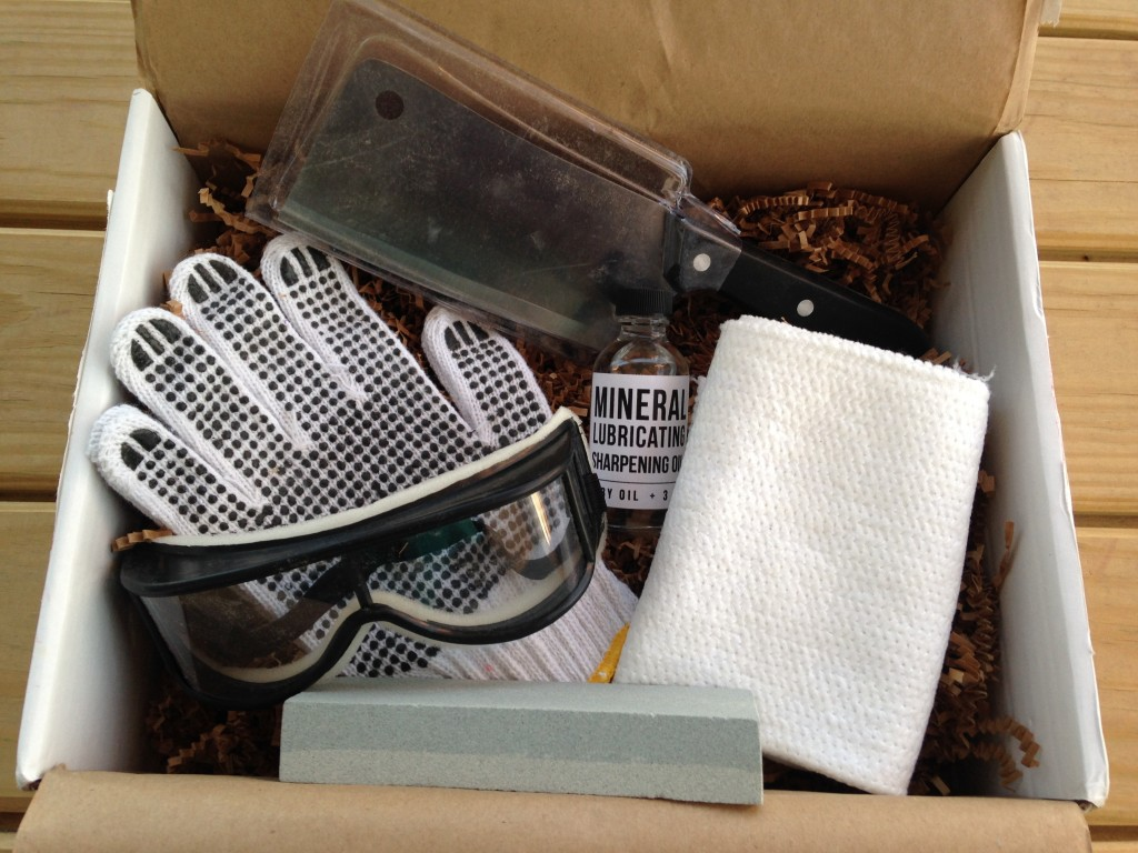 the homegrown collective march 2014 products for knife sharpening