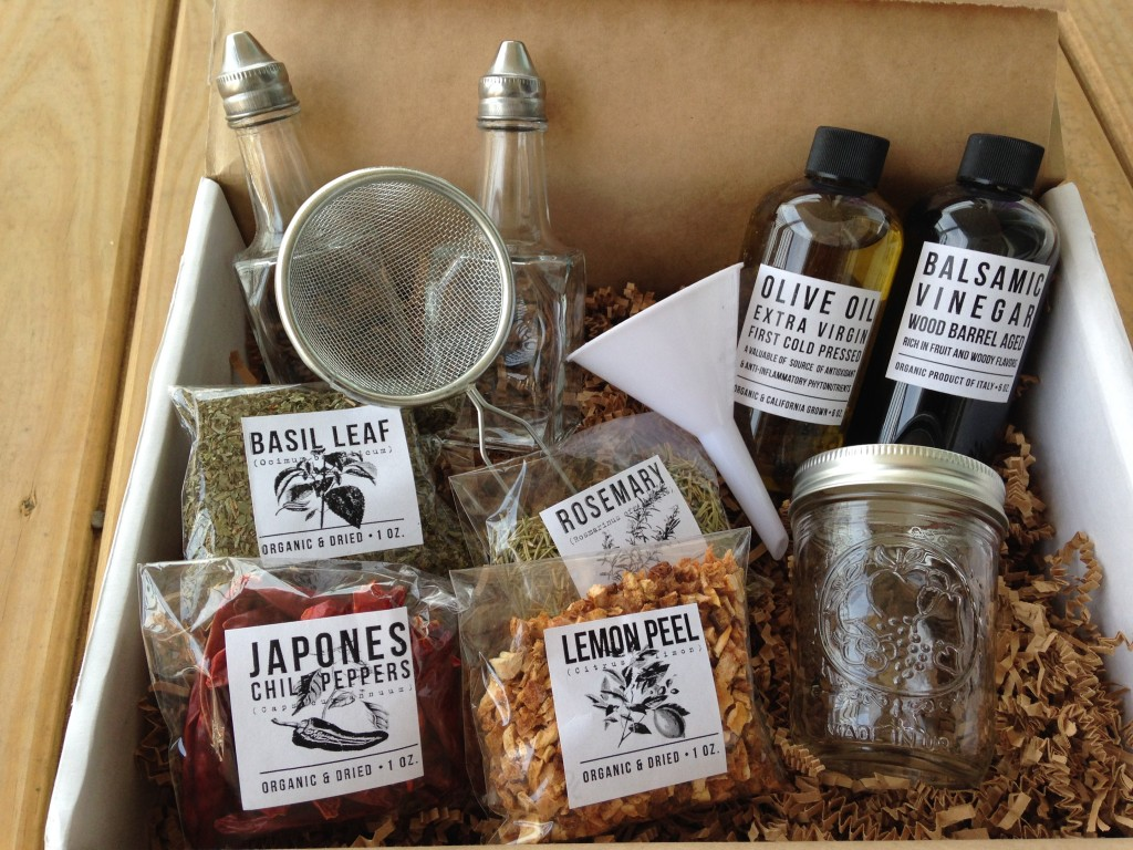 the homegrown collective may 2014 products for olive oil vinegar infusion