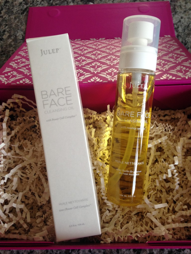 julep bare face cleansing oil with power cell complex