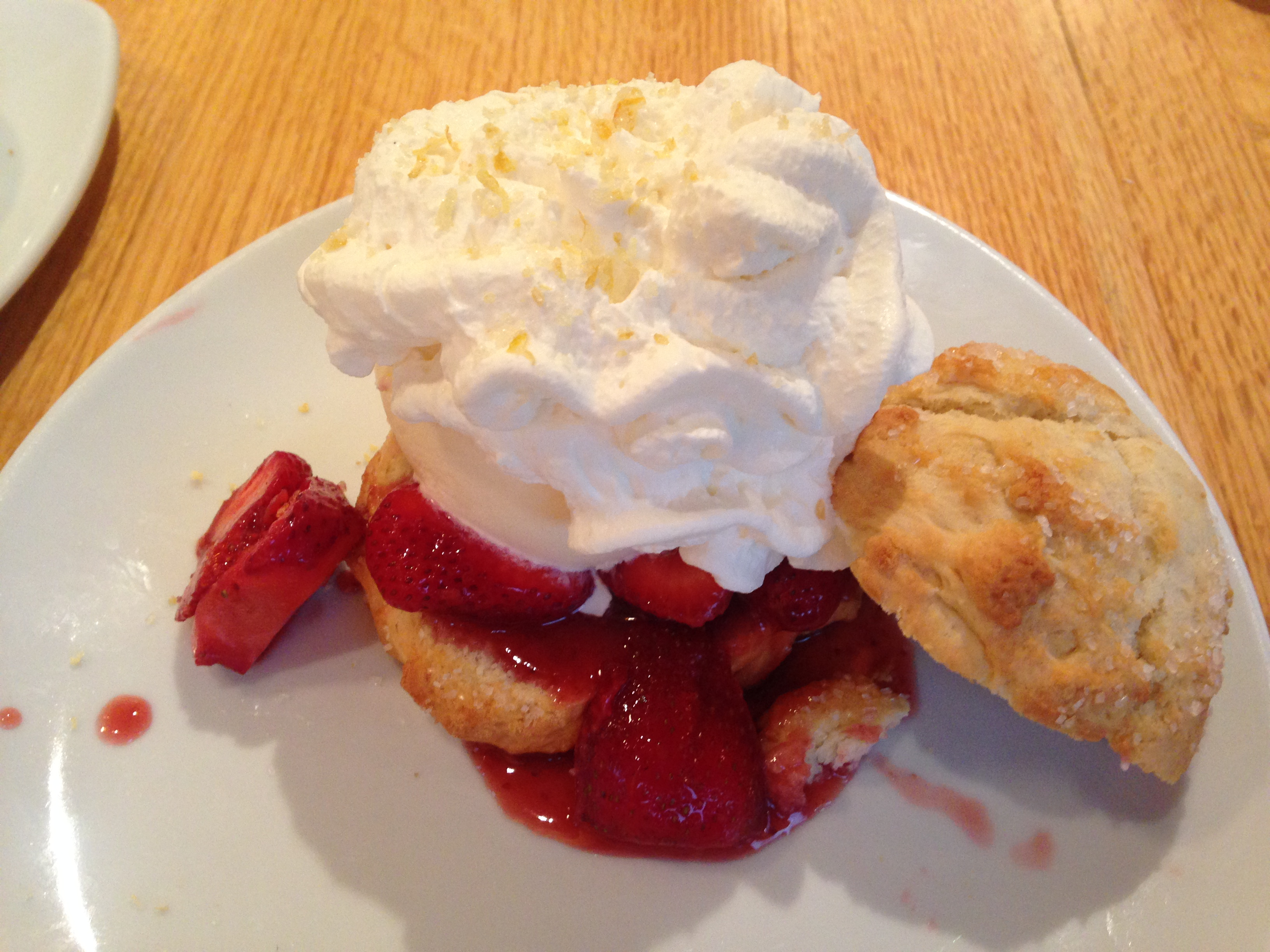 Strawberry Shortcake California Pizza Kitchen