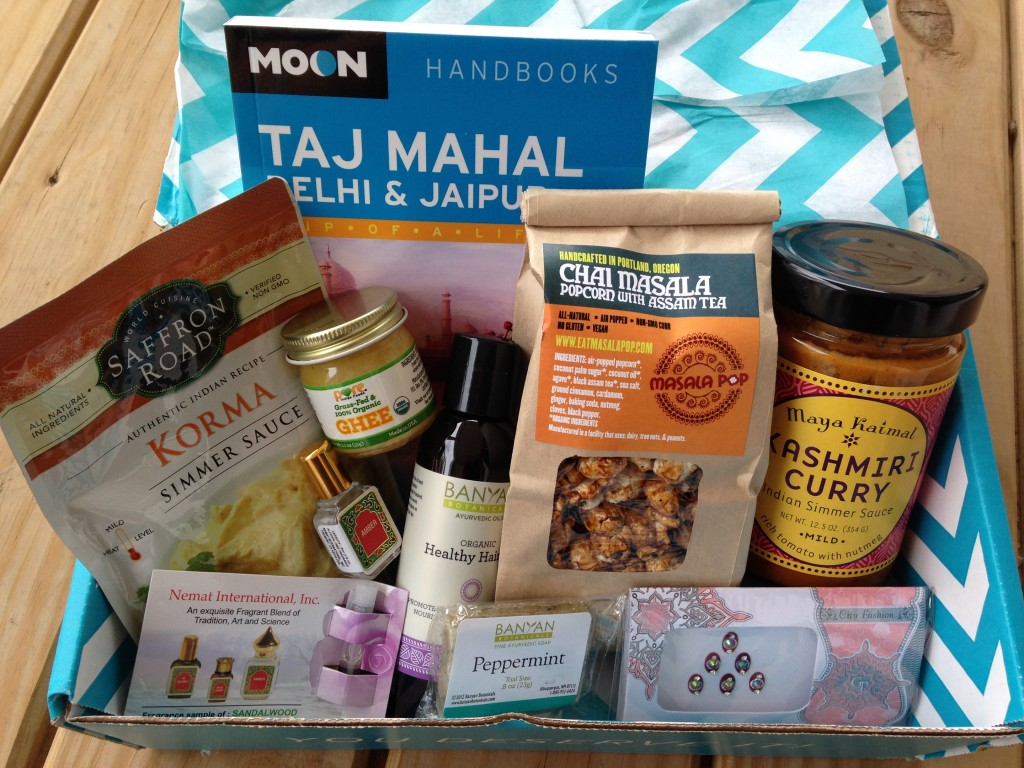 escape monthly july india box products showing