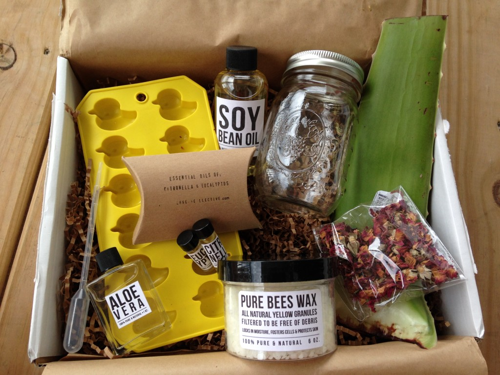 the homegrown collective june 2014 products for after-sun aloe lotion bars