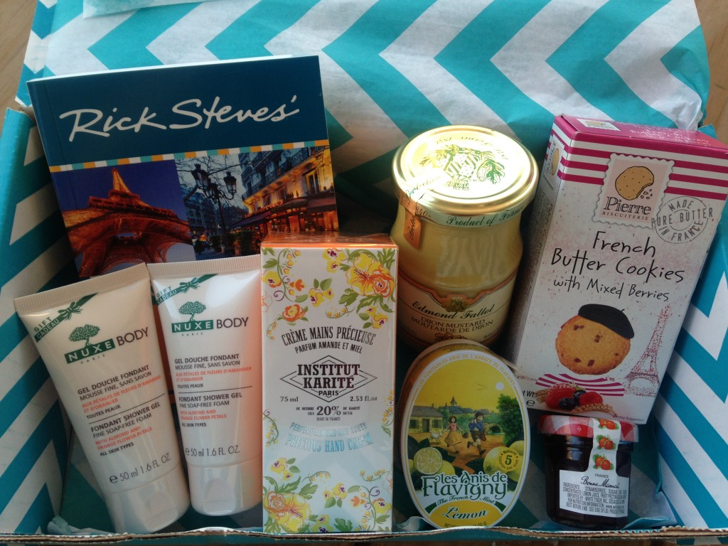 escape monthly august paris box products showing