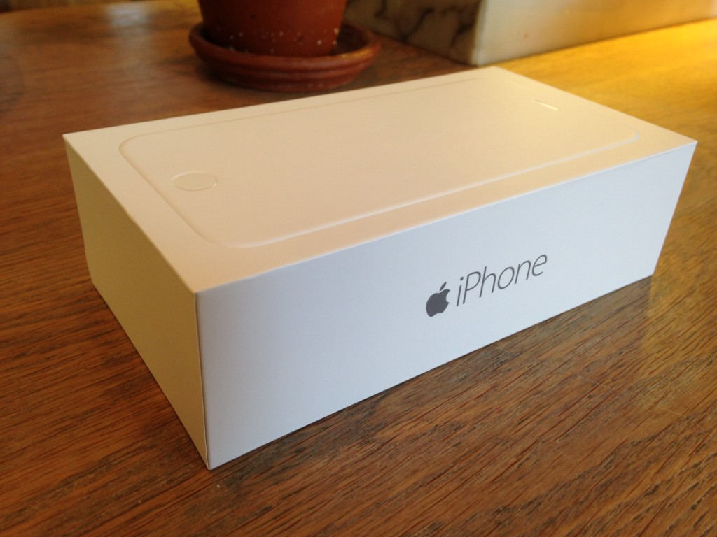 iphone 6 white box
