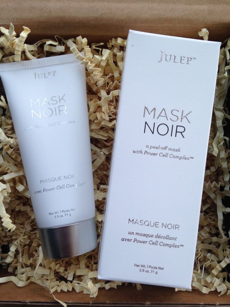 julep mask noir peel-off mask with power cell complex