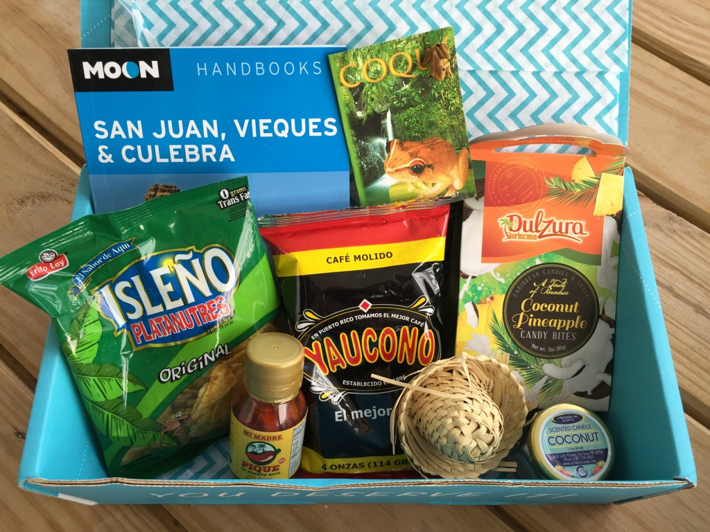 escape monthly september puerto rico box products showing