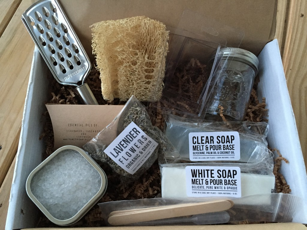 the homegrown collective september 2014 products for dead sea salt & lavender soap