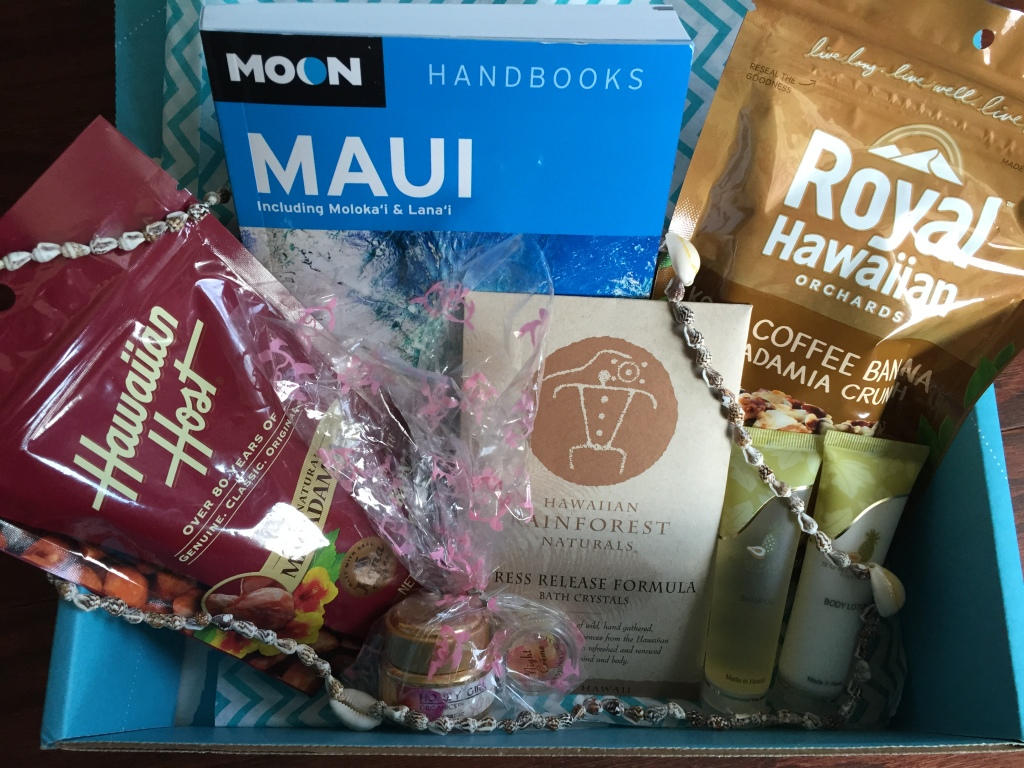 escape monthly november hawaii box products showing