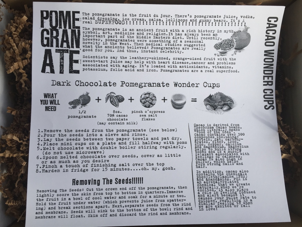 the homegrown collective november 2014 project cacao wonder cups info card
