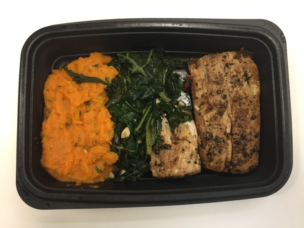 power supply blackened mahi mahi with herbed mashed sweet potatoes & sautéed kale mixitarian dinner meal open