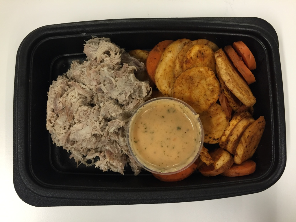 power supply cuban pulled pork with mexican spiced carrots and parsnips mixitarian dinner meal open