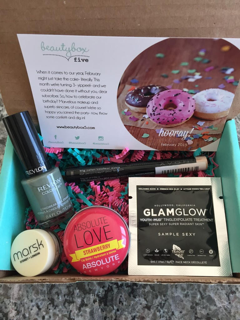 february 2015 beauty box 5 contents