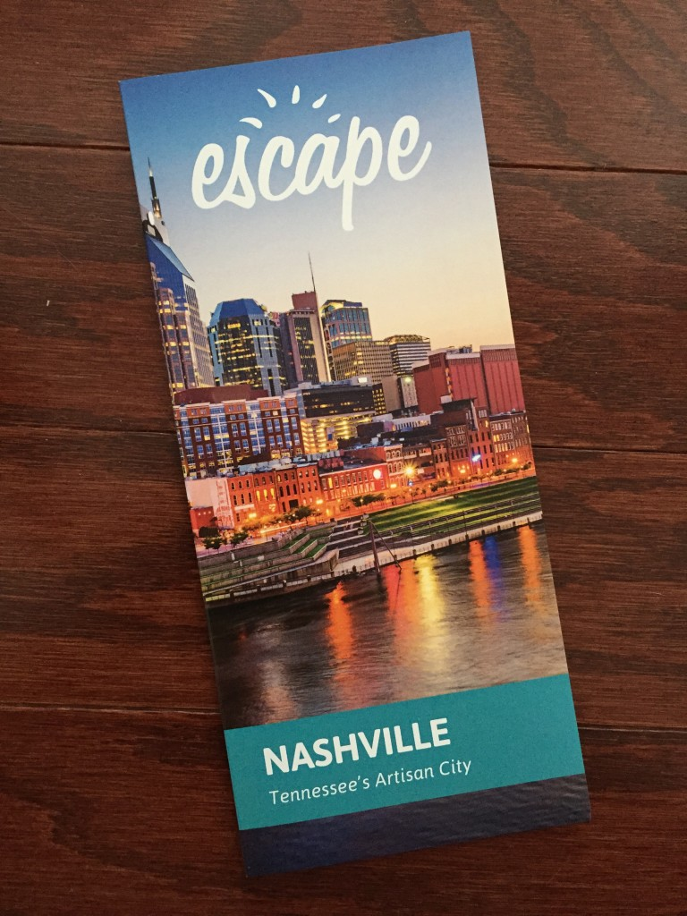 escape monthly february nashville box info card