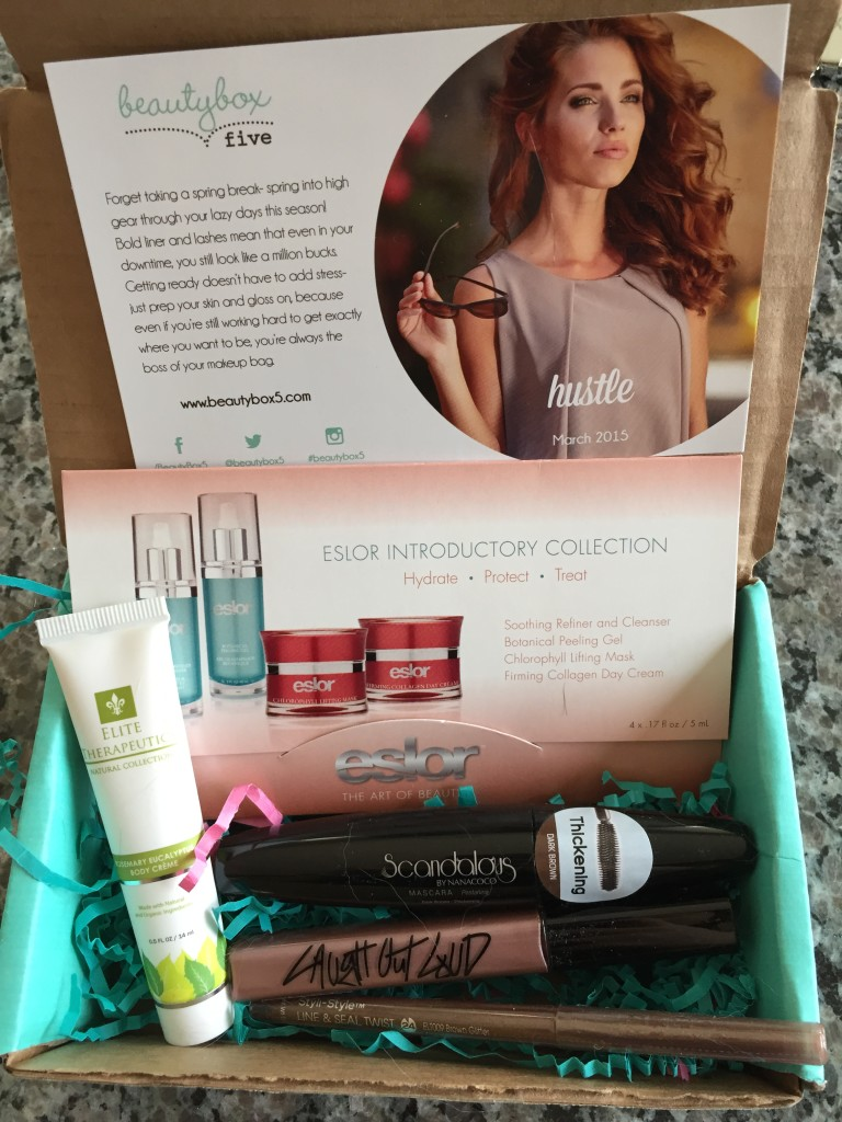 march 2015 beauty box 5 contents