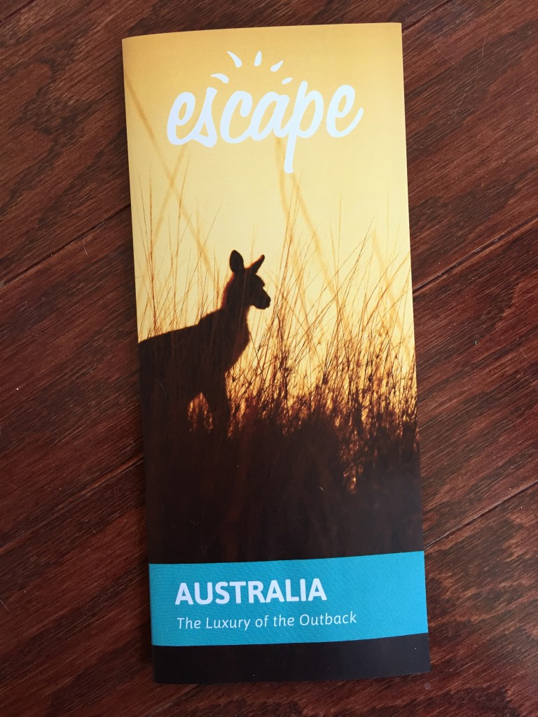 escape monthly march australia box info card