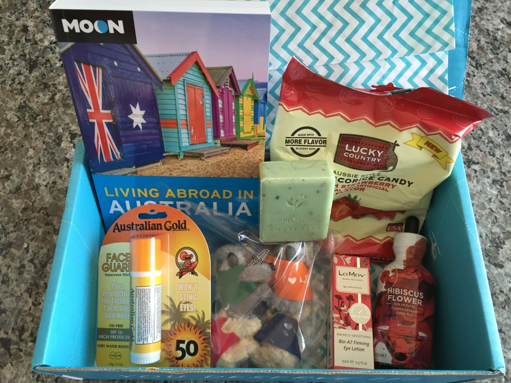 escape monthly march australia box products showing