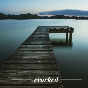 cover image for cracked poem by mary qin