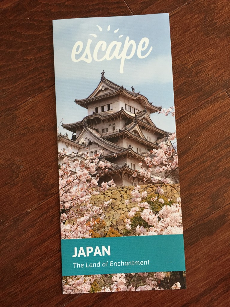 escape monthly april japan box info card