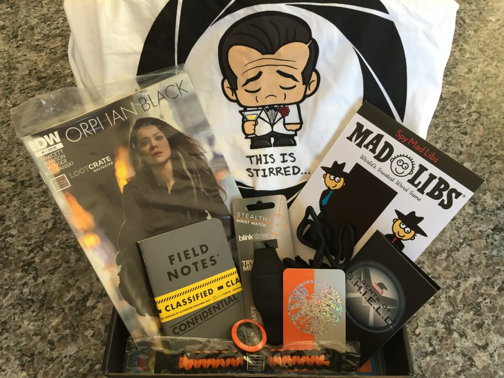 loot crate march 2015 box contents