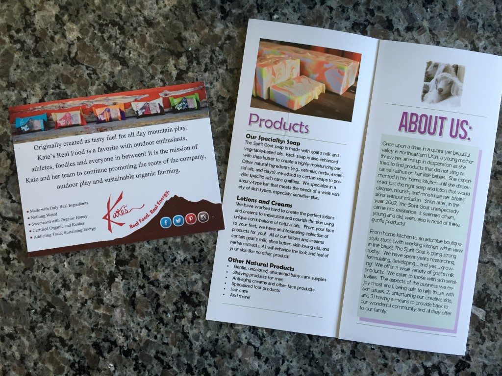 escape monthly may rocky mountain box product info cards back and inside