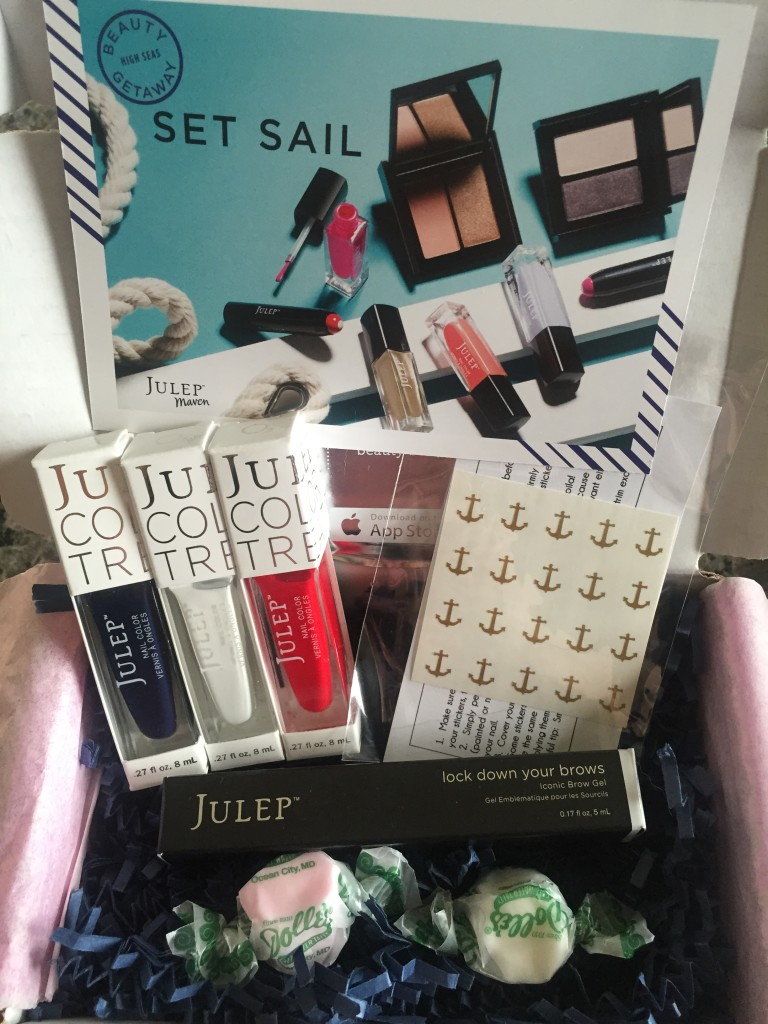 julep maven may 2015 set sail collection box contents