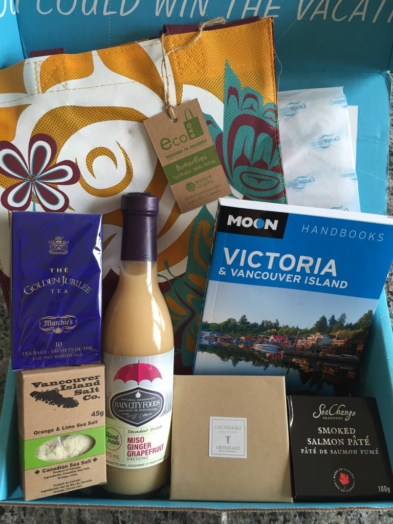 escape monthly june victoria/vancouver box products showing