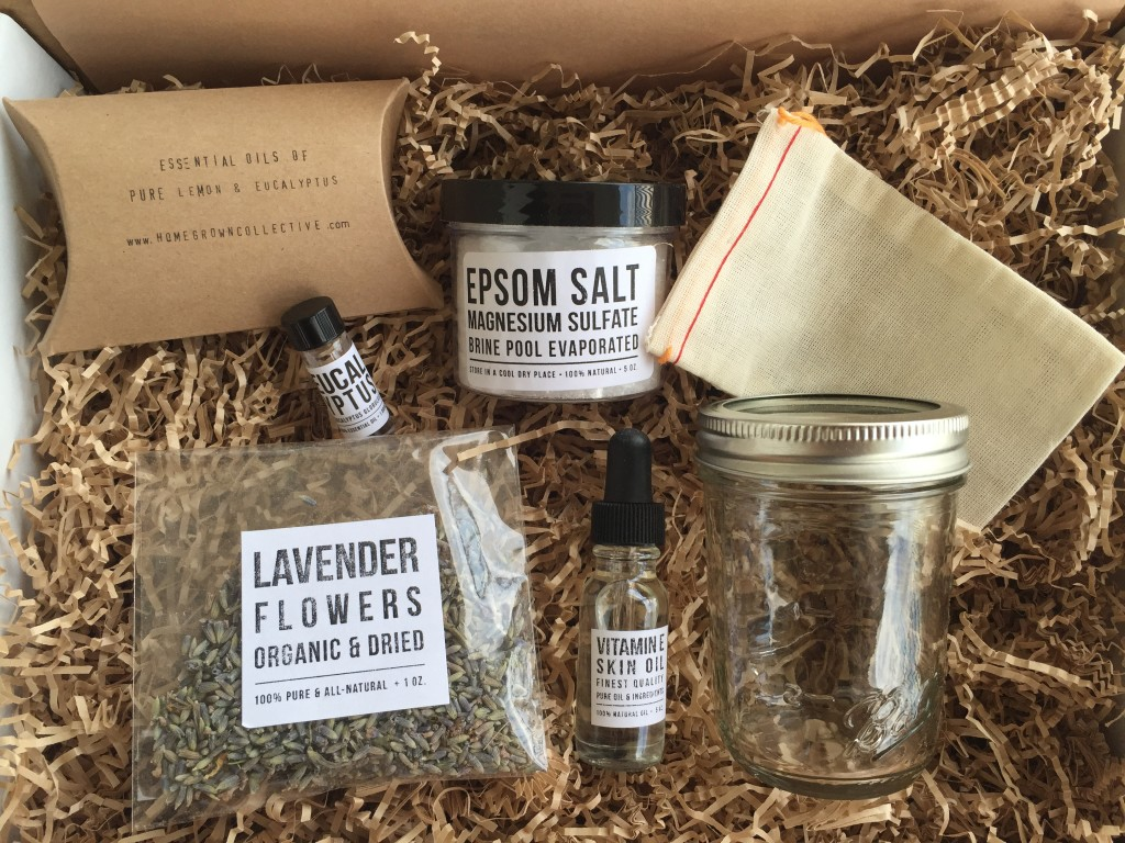 the homegrown collective june 2015 products for diy lavender bath soak