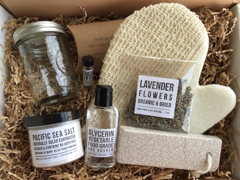 the homegrown collective june 2015 products for diy eucalyptus salt scrub