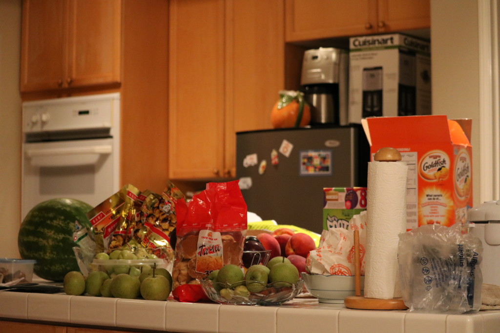 The items on the kitchen counter looked great in the photo, far better than with the naked eye.