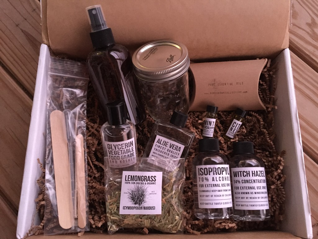 the homegrown collective august 2015 products for diy plant-based bug spray