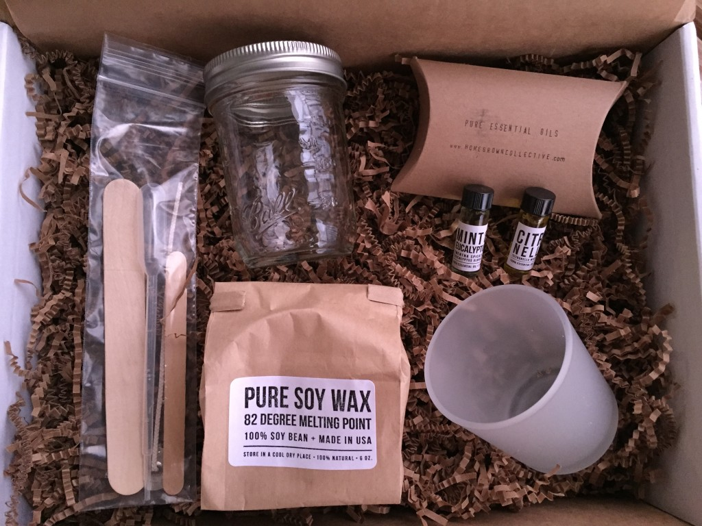 the homegrown collective august 2015 products for diy mint citronella candle