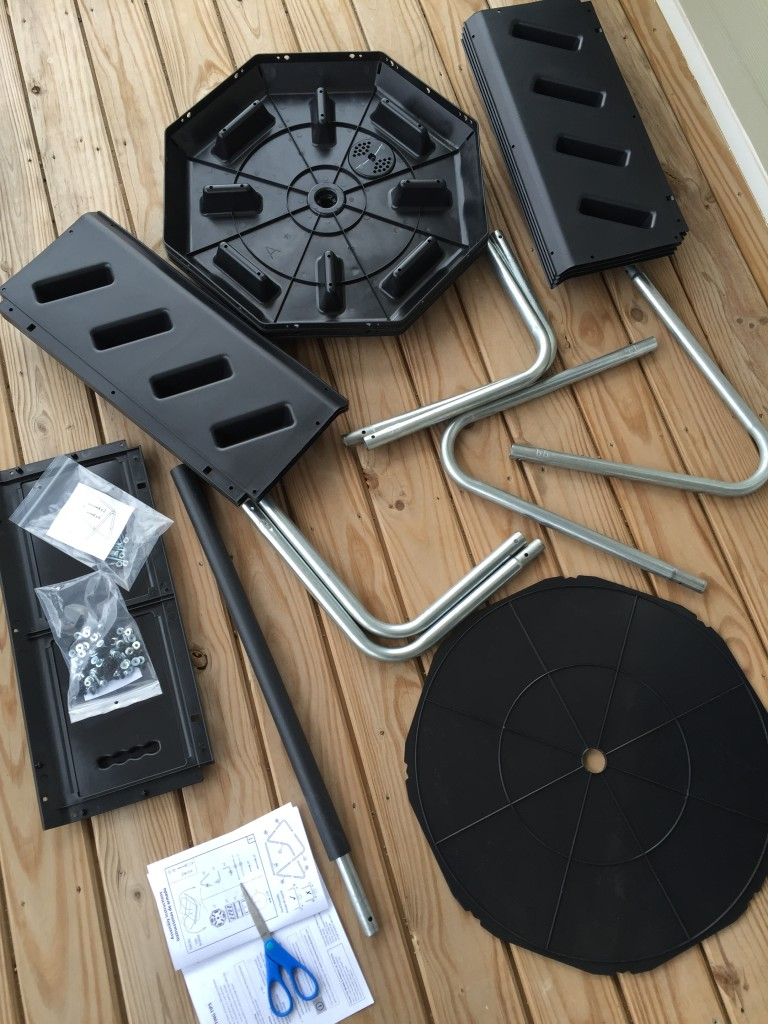 tumbling composter parts