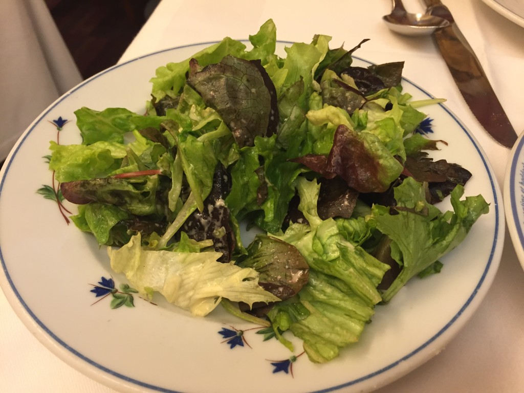 le souffle side salad