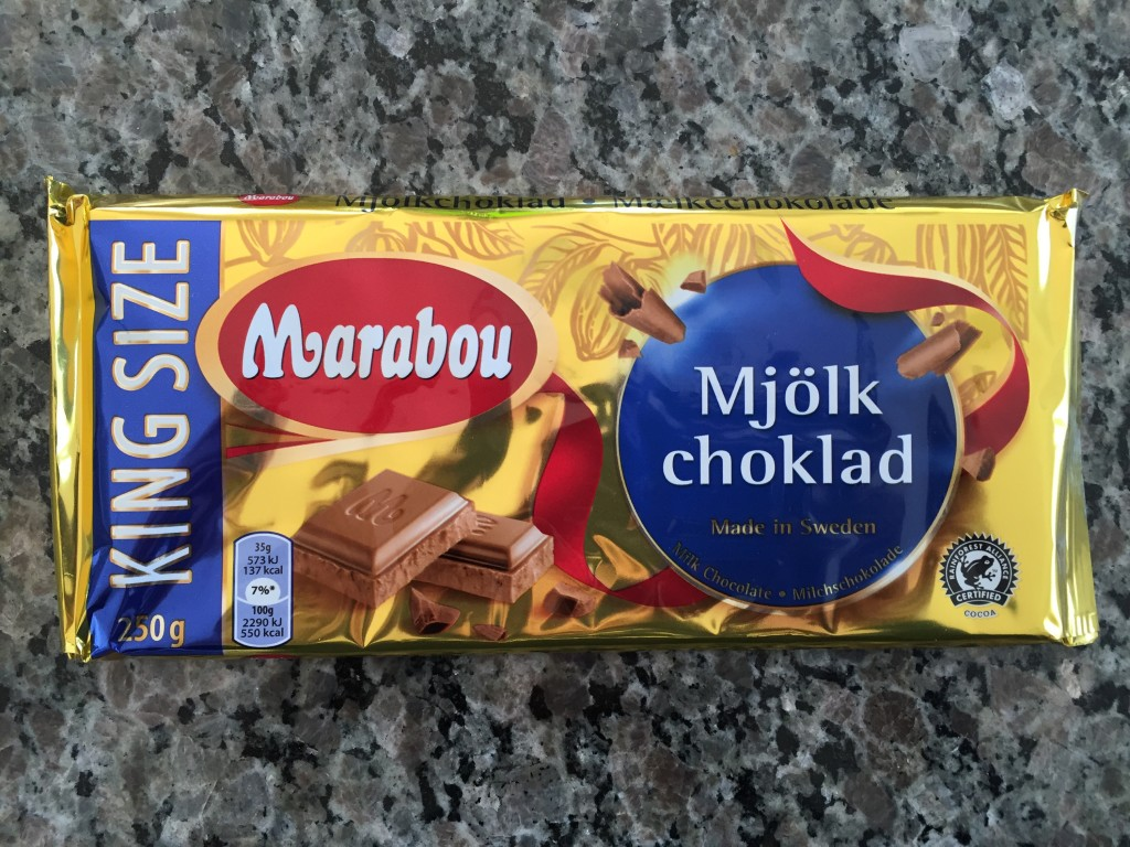 swedish chocolate bar from germany airport