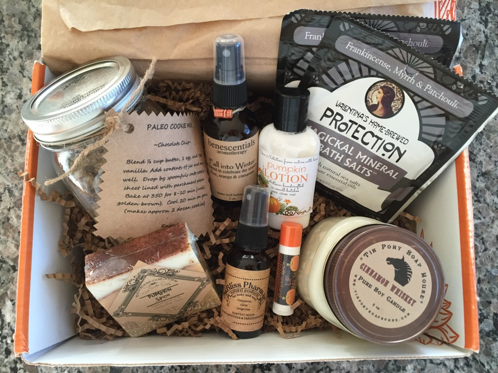 prospurly october 2015 box open with products showing