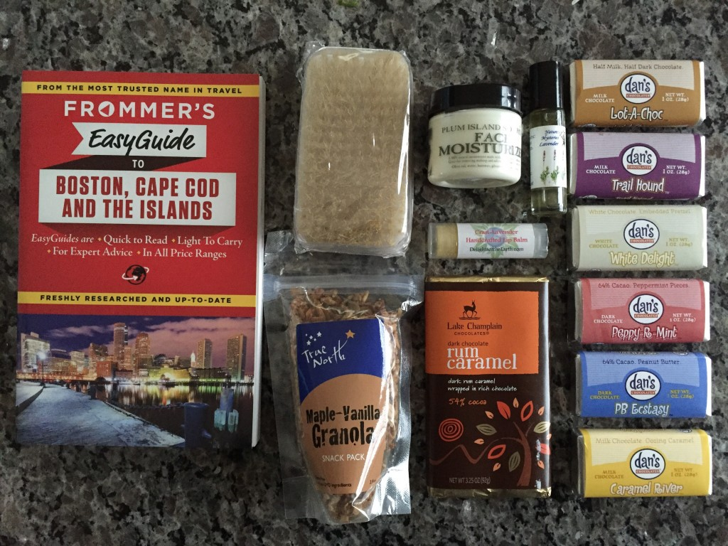 escape monthly december new england box products showing