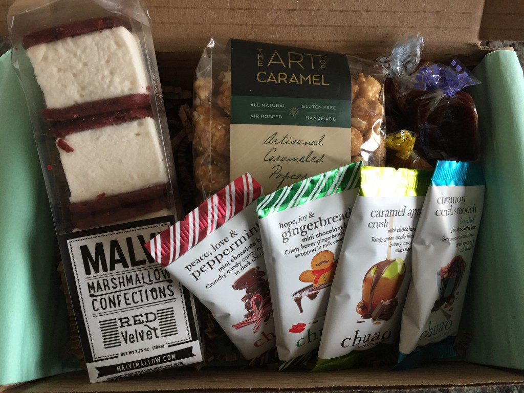 treatsie december 2015 box contents