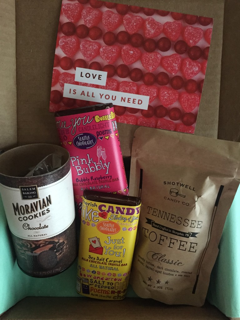 treatsie february 2016 box contents