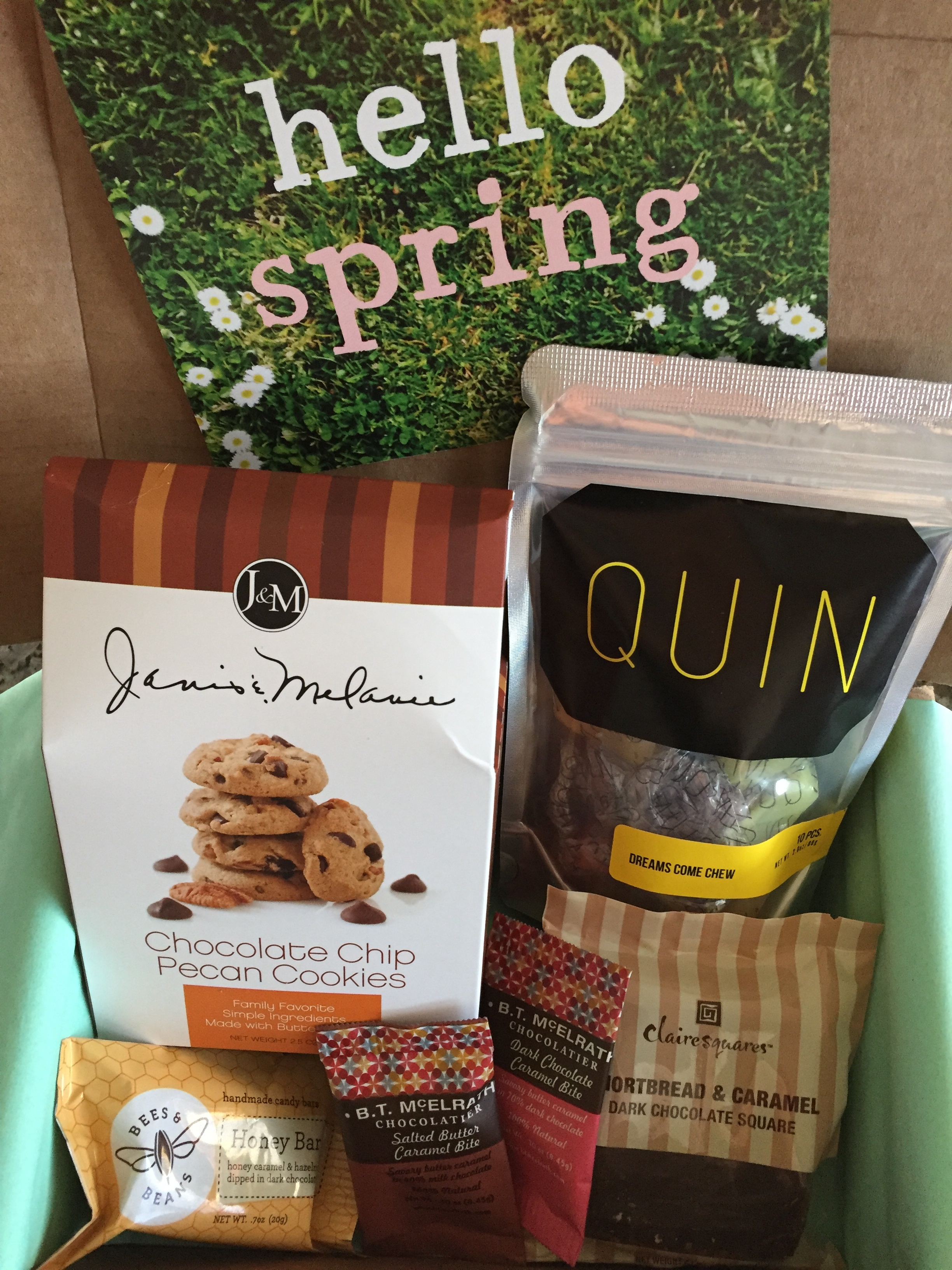 treatsie march 2016 box contents