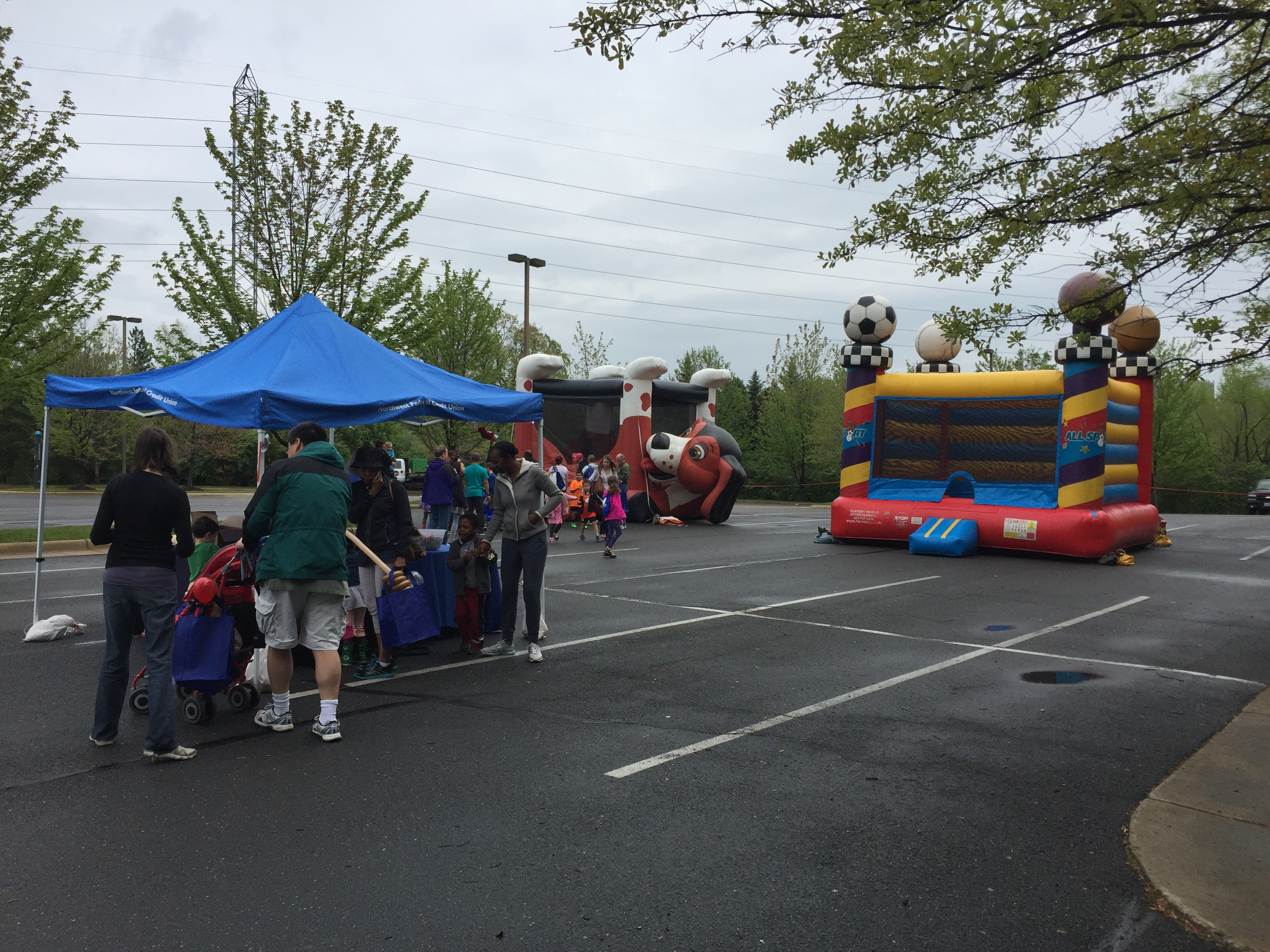 northwest federal credit union member appreciation day bounce houses