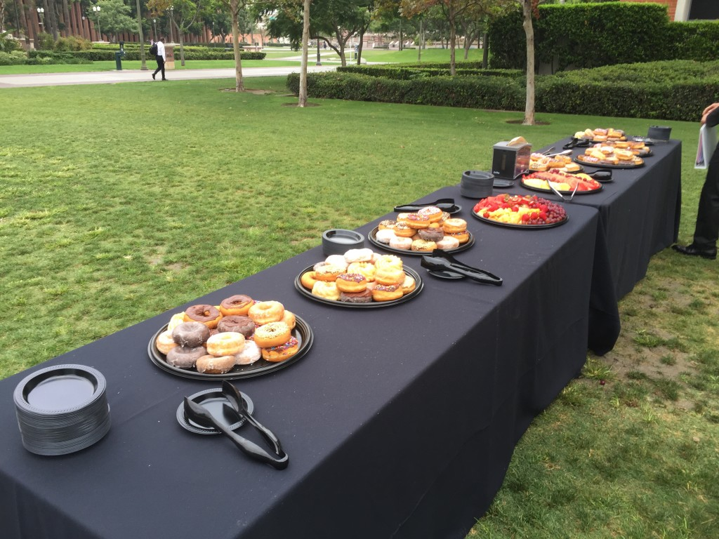 usc marshall mba coffee with deans morning breakfast